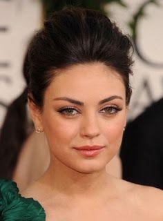 Mila Kunis Natural Makeup