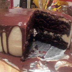 Chocolate Cake, Vanilla Buttercream, Choco Gnache Recipe | Just A Pinch Recipes
