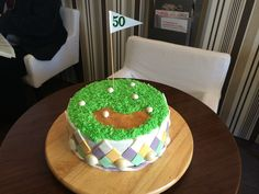 Golf Cake by Kavarium