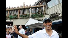 The Obamas stopped at Nancy's restaurant in the resort town of Oak Bluffs while vacationing on Martha's Vineyard. His must-have? Fried shrimp.