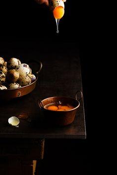 Huevos de codorniz by Raquel Carmona