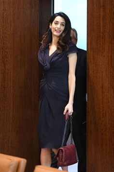 4a97d18d0857 Amal Clooney Just Rocked the Perfect Summery Dress for Date Night with  George