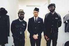 Sam Lambert and Shaka Maidoh | blog mode homme les plus stylés