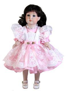 Lace Pinafore Dress fits Goodfellow Dolls