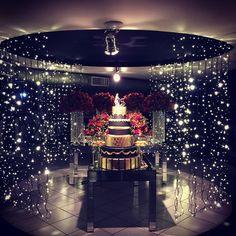 WEBSTA @ lighting.decor - Umas das festas de hoje foi uma festa de debutante  com uma mesa de bolo super iluminada  #festa #debutante #15anos #love #luizinhas #ilovemyfollowers #iluminacao #iluminacaocenicas #lightingdecor #francionimartins