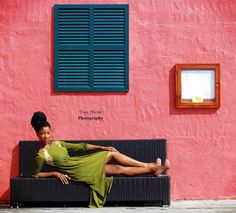 """Model Davika Hill in Southampton, Bermuda. See more photos on my photography Pinterest page at """"TajaNicoleP."""""""
