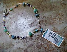 Art Bead Scene Blog: On the 6th Day of Christmas: Jingle Necklace