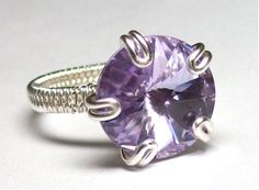 Adjustable Prong ring | JewelryLessons.com