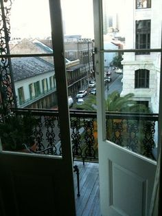 New Orleans, Louisiana doorway | Omni Royal Orleans Hotel - French Quarter - New Orleans, LA