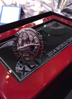 Super Bowl XLIX Champions Ring