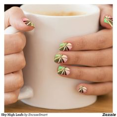 Sky High Leafs Minx® Nail Wraps