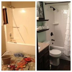 Fiberglass Tub Shower Design Ideas Pictures Remodel And