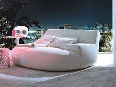 Sofá de tecido BIG BUG by Poliform design Paola Navone