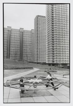 Larry Herman's Red Road Flats, Glasgow Council Estate, Tower Block, Photography Exhibition, National Portrait Gallery, Brutalist, Urban Landscape, Playground, Skyscraper, Multi Story Building