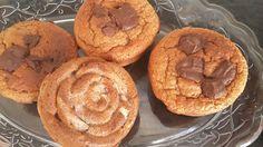 Pekanové muffiny