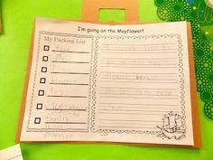 Packing list for the Mayflower