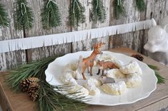 Woodland animal sweets from a Nordic Winter Cookie Decorating Party on Kara's Party Ideas | KarasPartyIdeas.com (23)