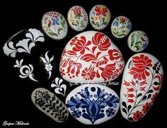 These Rocks Get An Artistic Makeover
