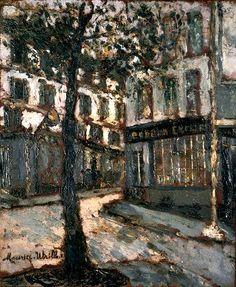 Place des Abesses, Maurice Utrillo. (1883 - 1955)