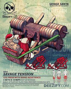 leg press with resistance bands santa