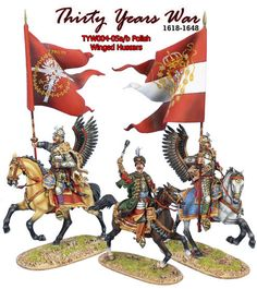 First Legion Toy Soldiers - Polish Winged Hussars Medieval, Renaissance Era, Modern Warfare, Toy Soldiers, Knight, Wings, Army, Polish, Military