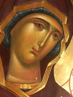 Byzantine Icons, Byzantine Art, John Chrysostom, Russian Orthodox, Holy Family, Orthodox Icons, Blessed Mother, Madonna, Christian