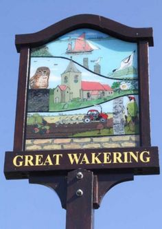 carved town signs uk only - Google Search