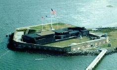 Ft. Sumter, South Carolina  National Park Service photo.  nps.com