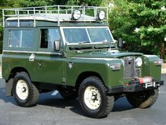 Land Rover 88 Serie II A. Sw.