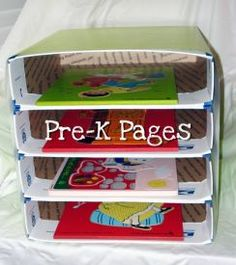 A cheap/in expensive way to create a puzzle holder....priority mail boxes and then covering them with either wrapping paper or even fabic!