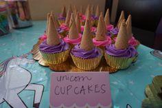 Unicorn cupcakes • rainbow unicorn birthday party • unicorn party Diy Unicorn Birthday Party, Rainbow Unicorn Party, Rainbow Birthday, 9th Birthday, Unicorn Birthday Parties, Birthday Party Themes, Birthday Ideas, Unicorn Cupcakes, Bday Girl