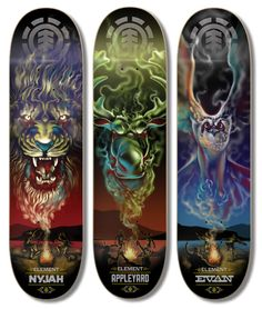 ELEMENT SKATEBOARDS on Behance