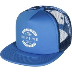 Quiksilver Everyday Eclipse Trucker Hat (59.015 COP) ❤ liked on Polyvore featuring accessories, hats, quiksilver hat, quiksilver, truck caps and trucker hat