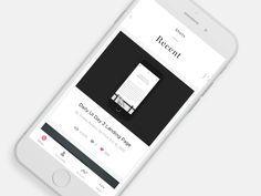 Mobile Feed UI Concepts – Inspiration Supply – Medium