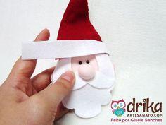 Papai Noel de Feltro