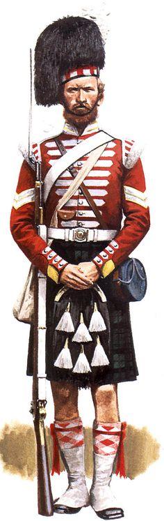 93rd Highlanders, Cpl, Crimea