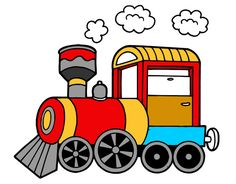 tren Car Ride Activities, Classroom Activities, Toddler Activities, Classroom Decor, Clipart Boy, Cute Clipart, Train Coloring Pages, Coloring Books, Cool Powerpoint Backgrounds