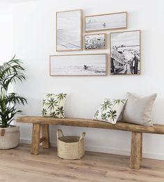 Home Decorating Ideas Furniture small picture gallery kleine Bildergalerie & Holzbank & Flur Home Decorating Ideas Möbel The post Home Decorating Ideas Furniture kleine Bildergalerie appeared first on Lori& Decoration Lab. Decor, Coastal Decor, Interior, Beach House Decor, Entryway Decor, Decor Inspiration, Home Decor, House Interior, Interior Design