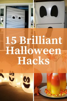 Smart Halloween Hacks: Cool tips to make it easier to celebrate Halloween including the best way to slice a pumpkin, milk jug ghosts and more! hacks | Halloween | Halloween Hacks