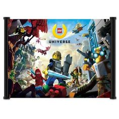 "Lego Universe Game Fabric Wall Scroll Poster (22""x16"") Inches"