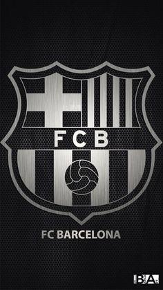 Barcelona Logo Black N White