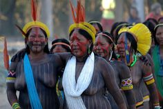 Tribal Women, Tribal People, Indigenous Tribes, North And South America, Native American Tribes, World Cultures, People Around The World, First World, Native Americans