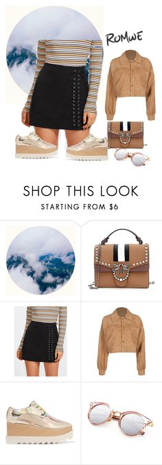 """""""romwe"""" by youssrano ❤ liked on Polyvore featuring STELLA McCARTNEY"""