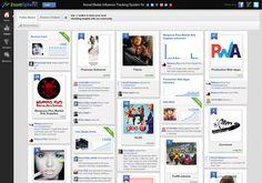 Global social statistics o.a. pinterest brands, via http://www.zoomsphere.com via @url2pin