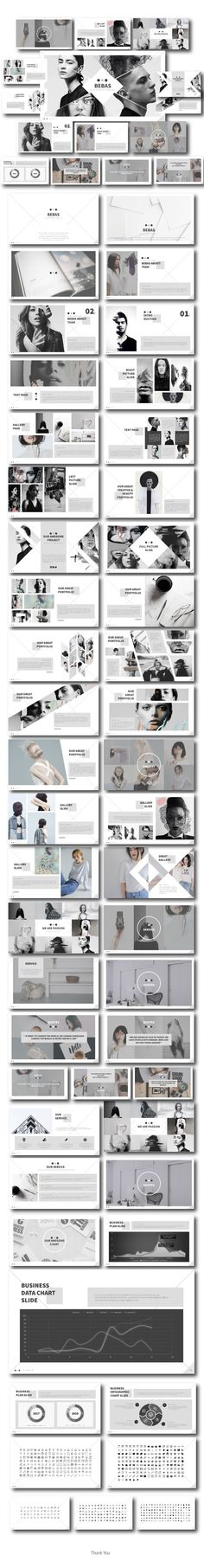 Bebas Multipurpose Template - #Business #PowerPoint #Templates Download here: https://graphicriver.net/item/bebas-multipurpose-template/20270315?ref=alena994
