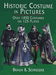 Over 1,450 costumed figures in clearly detailed engravings — from the dawn of civilization to the end of the 19th century. Features many folk costumes. Captions.