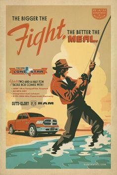 Dodge / RAM: Fishing | Ads of the World™