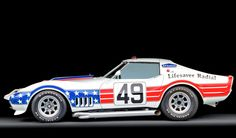 Happy 4th July! Check out this Stars and stripes Chevy Corvette L88 #USA #HappyIndependanceDay