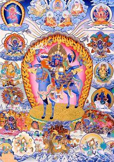 Radiant Goddess Thangka