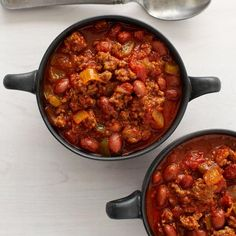 Cumin Chili | You'll get a clear taste of cumin in this great cold-weather chili made with ground beef, beans, and green bell pepper. If you want a hotter chili, add as much cayenne as you like.
